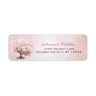 Simply Pink Pale Dogwood Heart Leaf Tree