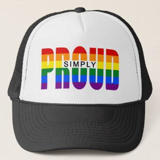SIMPLY PROUD (Rainbow) Trucker Hat