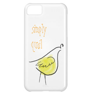 Simply Quail iPhone 5 Case