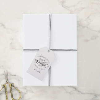 Simply Scripted Custom Graduate Gift Tag