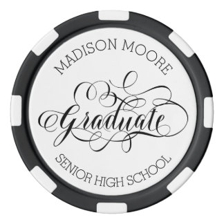 Simply Scripted Custom Graduate Poker Chip