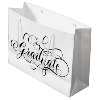Simply Scripted Graduate Large Gift Bag