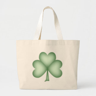 Simply Shamrock Large Tote Bag