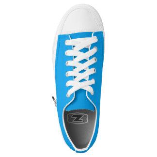 Simply Sky Blue Low-Top Sneakers