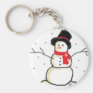 Simply Snowman Keychain