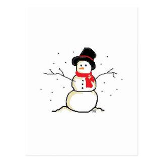 Simply Snowman Postcard