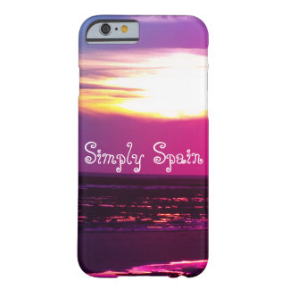 Simply Spain Barely There iPhone 6 Case