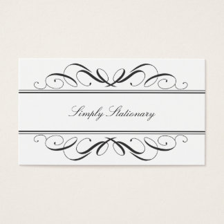 Simply Stationary Calligraphy Business Card