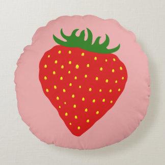 Simply Strawberry custom cushion
