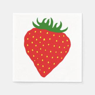 Simply Strawberry paper napkins