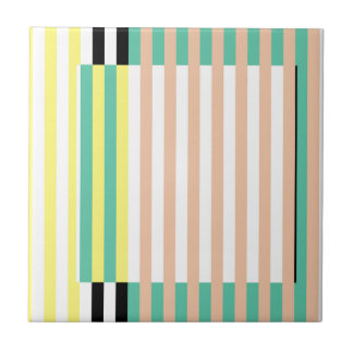 simply stripes mint dusty ceramic tiles