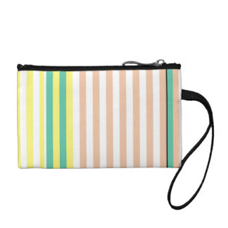 simply stripes mint dusty coin purse