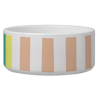 simply stripes mint dusty dog bowls