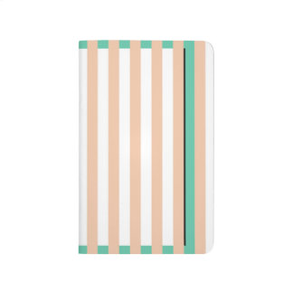 simply stripes mint dusty journals