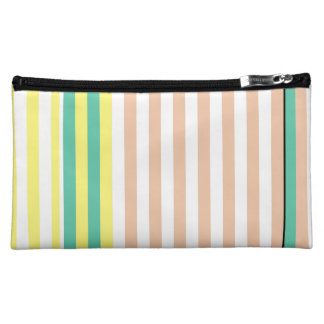 simply stripes mint dusty makeup bags