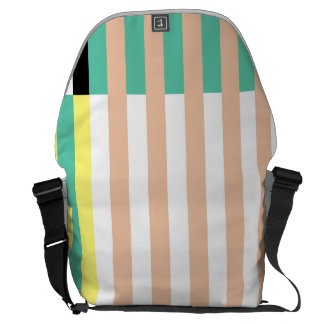 simply stripes mint dusty messenger bag
