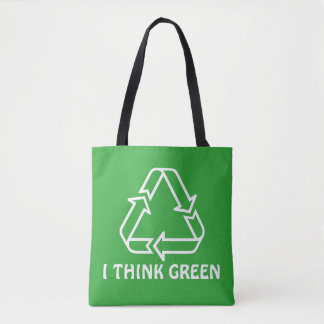 Simply Symbols / Icons - RECYCLING + ideas Tote Bag