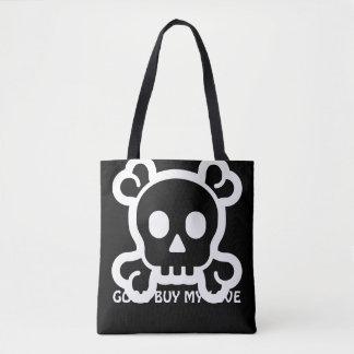 Simply Symbols / Icons - SKULL & BONES + ideas Tote Bag