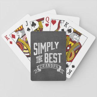 Simply the best Grandpa Poker Deck