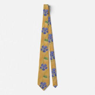 """""""Simply Vinca"""" Flower Garden Neck Tie"""