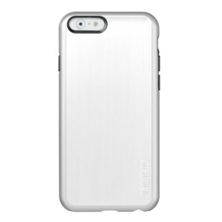 Simply White Solid Color Personalize It Incipio Feather® Shine iPhone 6 Case