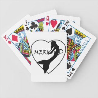 SimplyTonjia Mermaid Love Playing Cards