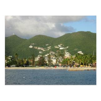 Simpson Bay St. Maarten Postcard