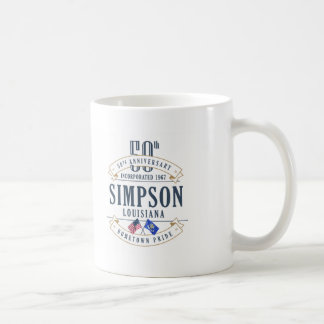 Simpson, Louisiana 50th Anniversary Mug