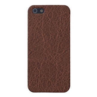 Simulated Western Leather iPhone 5/5S Case