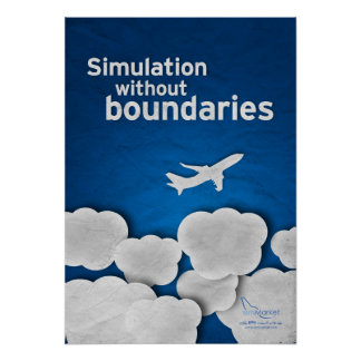 Simulation without boundaries poster