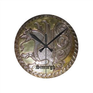Simurgh Round Clock