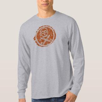 Sin Bin Hockey Distressed Skull T-Shirt