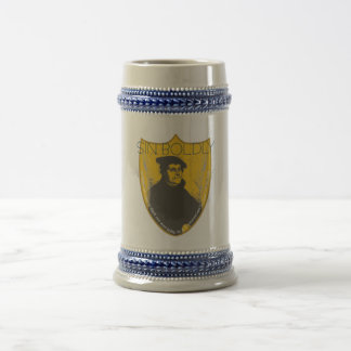 Sin Boldly - Martin Luther Beer Stein