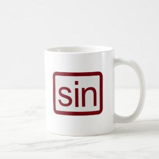 Sin Calculator Button Coffee Mug