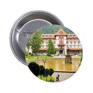 Sinaia, Romania 2 Inch Round Button