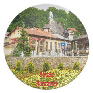 Sinaia, Romania Plates