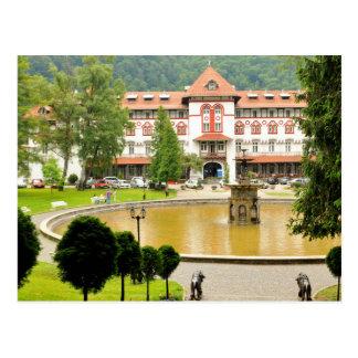 Sinaia, Romania Postcard