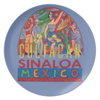 SINALOA Mexico Plate