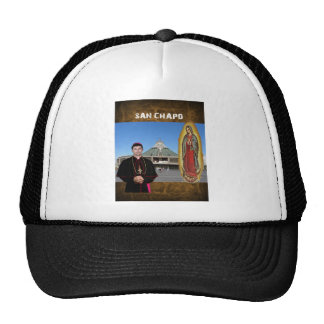 SINALOA SAN CHAPO ORIGINALS PRODUCTS BASILICA TRUCKER HAT