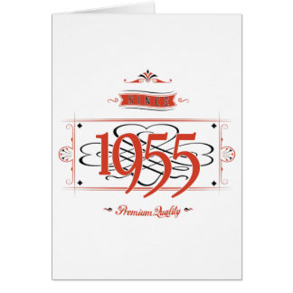Since 1955 (Red&Black) Card
