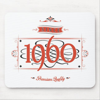 Since 1960 (Red&Black) Mouse Pad