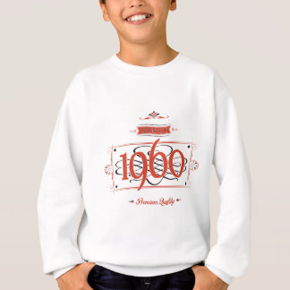 Since 1960 (Red&Black) Sweatshirt