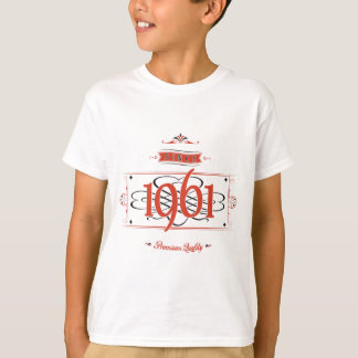 Since 1961 (Red&Black) T-Shirt