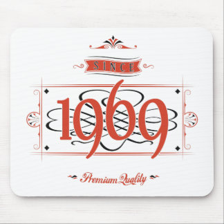 Since 1969 (Red&Black) Mouse Pad