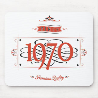 Since 1970 (Red&Black) Mouse Pad