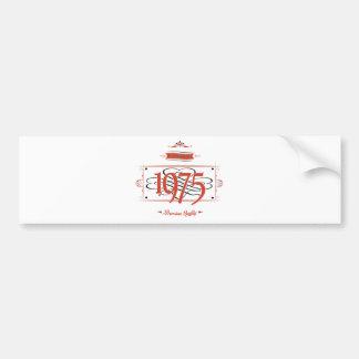 Since 1975 (Red&Black) Bumper Sticker