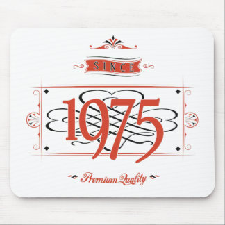 Since 1975 (Red&Black) Mouse Pad