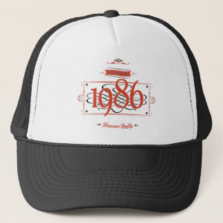 Since 1986 (Red&Black) Trucker Hat