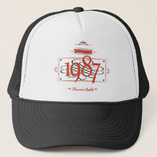 Since 1987 (Red&Black) Trucker Hat