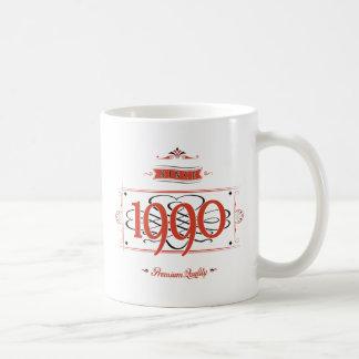 Since 1990 (Red&Black) Coffee Mug